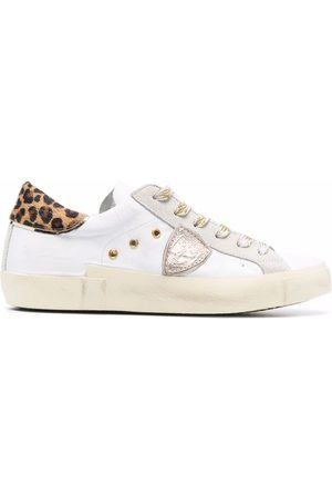 Philippe model Side logo-patch sneakers