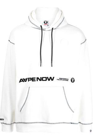 AAPE BY A BATHING APE Aape Now contrast-trim hoodie