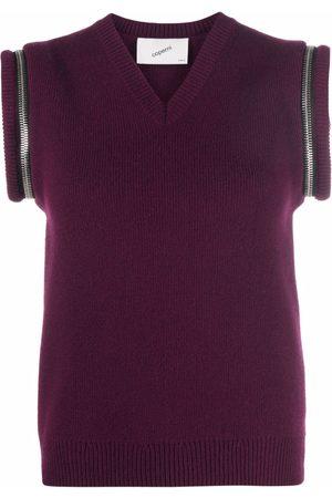 COPERNI Women Camisoles - Zip-details wool vest