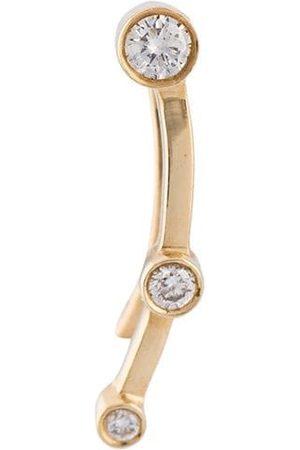 SOPHIE BILLE BRAHE 24kt gold Calder Trois diamond earring