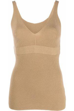 AMI AMALIA Women Camisoles - Ribbed knit vest top