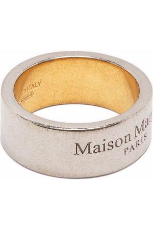 Maison Margiela Engraved logo ring