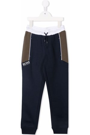 HUGO BOSS Boys Trousers - Logo-print sweatpants