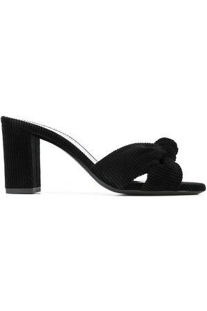 Saint Laurent Knot-detail open-toe sandals