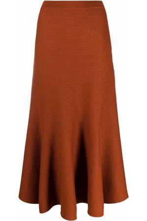 GABRIELA HEARST High-waisted knitted maxi skirt