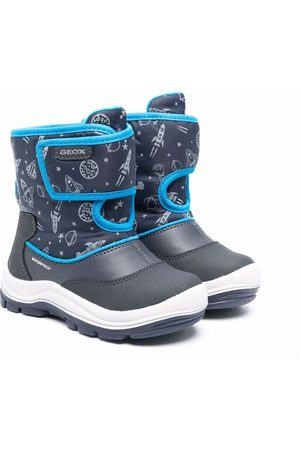Geox Boys Snow Boots - Flanfil snow boots