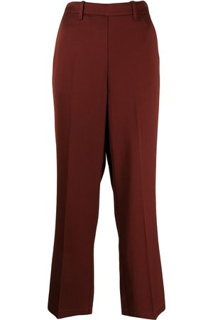 FORTE FORTE High waisted wide leg trousers