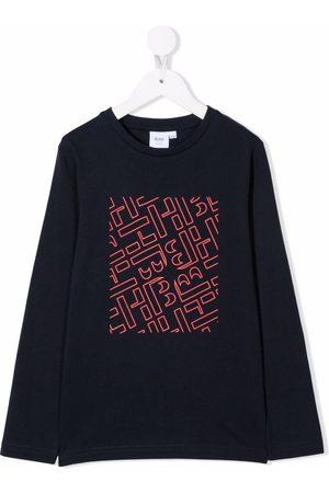 HUGO BOSS Logo-print cotton T-shirt
