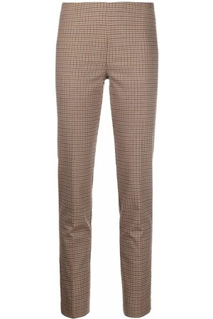 P.a.r.o.s.h. Straight-leg checked trousers