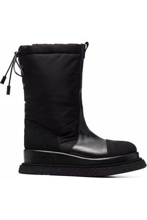Premiata Panelled drawstring boots