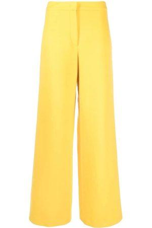 Emilio Pucci Wide-leg wool trousers