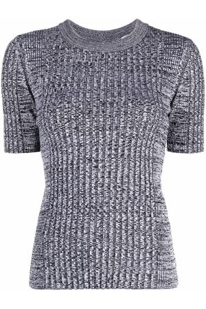 Paco rabanne Ribbed-knit T-shirt