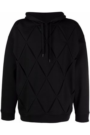 VALENTINO V cut-out relaxed-fit hoodie