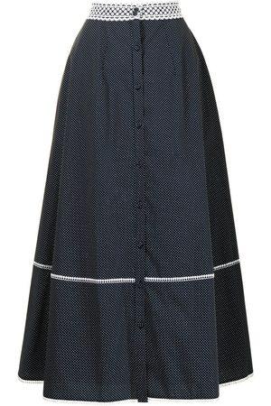 Erdem Mervyn lace-waistband skirt