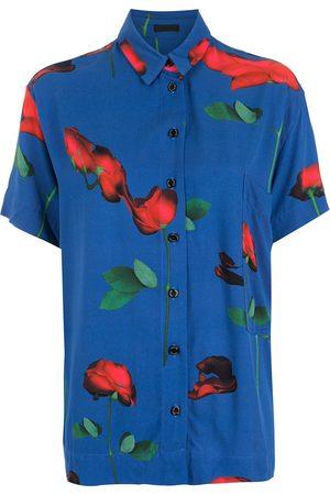 OSKLEN Rosa Glitch short-sleeved shirt