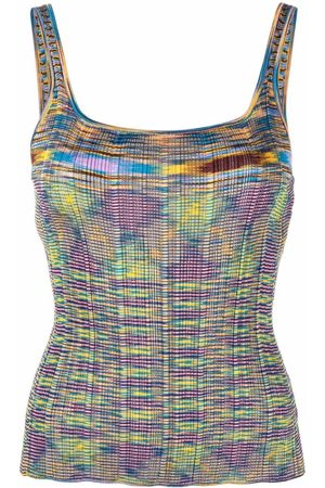 Missoni Abstract-knit vest