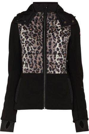 JET SET Softshell Jaguar zip-up ski jacket