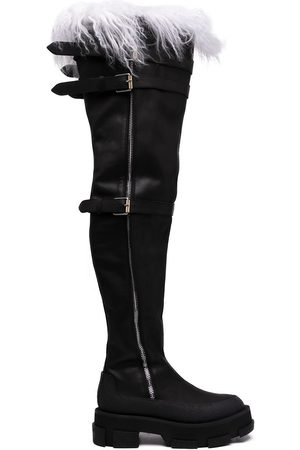 DION LEE Gao thigh-high boots