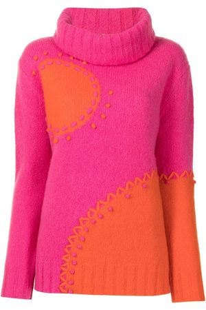 Onefifteen Colour-block knitted jumper