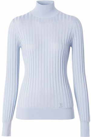 Burberry Ribbed-knit mock-neck top