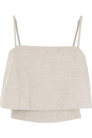 OSKLEN Lounge linen top