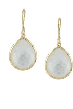 Ippolita 18kt yellow Rock Candy medium teardrop earrings