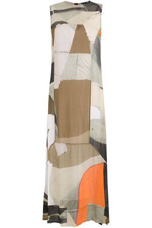 OSKLEN Women Dresses - Bowl panelled long dress