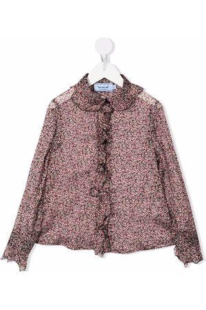 Mimisol Floral-print blouse
