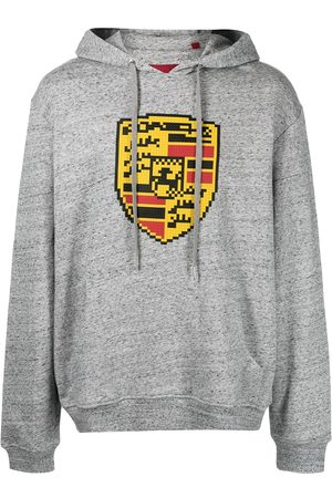 MOSTLY HEARD RARELY SEEN Turbo-print cotton hoodie