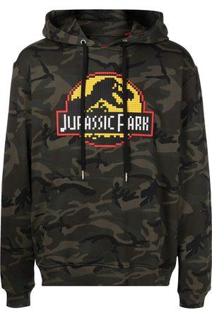 MOSTLY HEARD RARELY SEEN Jurassic Park-print cotton hoodie