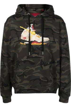 MOSTLY HEARD RARELY SEEN Sail-print cotton hoodie