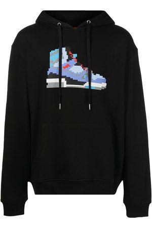 MOSTLY HEARD RARELY SEEN Men Hoodies - 508 Hi Top-print cotton hoodie
