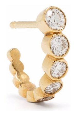 SOPHIE BILLE BRAHE 18kt yellow gold Ensemble diamond hoop earring