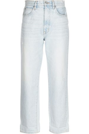 SLVRLAKE Distressed tapered jeans