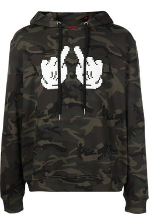 MOSTLY HEARD RARELY SEEN Double F-print cotton hoodie