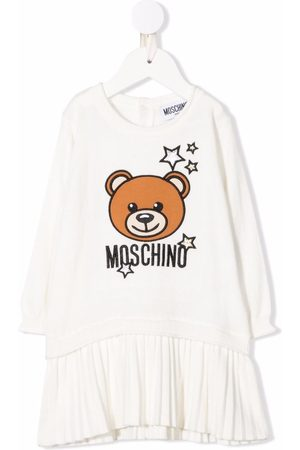 Moschino Baby Casual Dresses - Toy-bear print dress