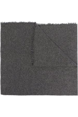 Faliero Sarti Melange-effect knitted scarf
