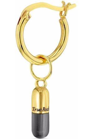 TRUE ROCKS Mini pill hoop earring
