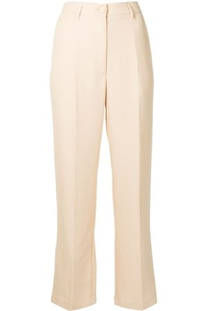 FORTE FORTE High-waist tailored trousers