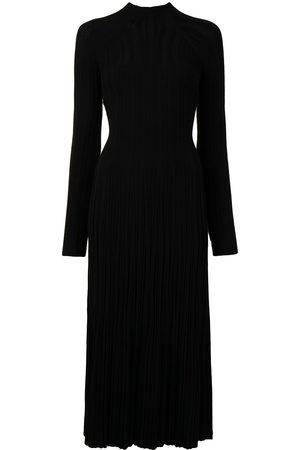 DION LEE Women Midi Dresses - Lung-twist longsleeved midi dress