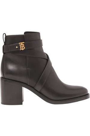 Burberry Women Ankle Boots - TB plaque ankle boots