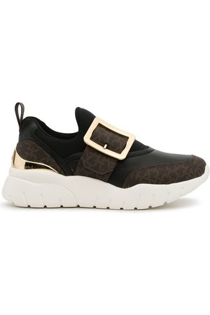 Bally B-Chain panelled sneakers