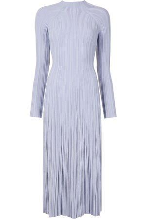 DION LEE Women Midi Dresses - Pleated lung-twist midi dress