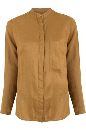 OSKLEN Linen slim shirt