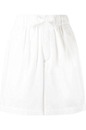 Tekla Drawstring-waist shorts