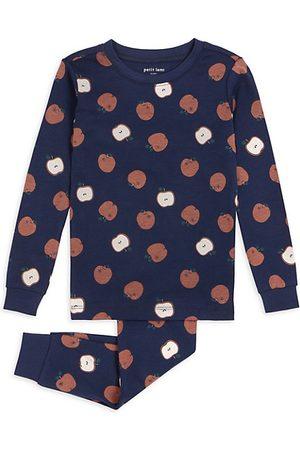 FIRSTS by petit lem Girls Pyjamas - Little Girl's & Girl's Apple Pajama Set