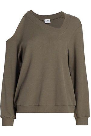 LnA Women Long Sleeve - Stone Thermal Long-Sleeve Top