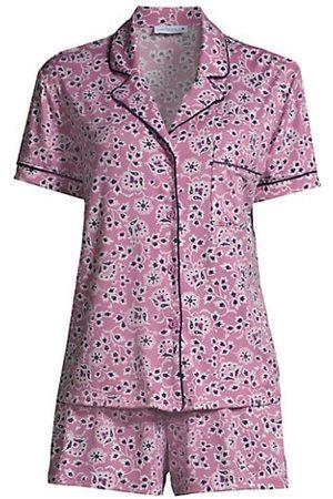 In Bloom Women Bathrobes - Allie Two-Piece Pajama Set