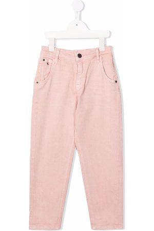Calvin Klein Rear logo-print trousers