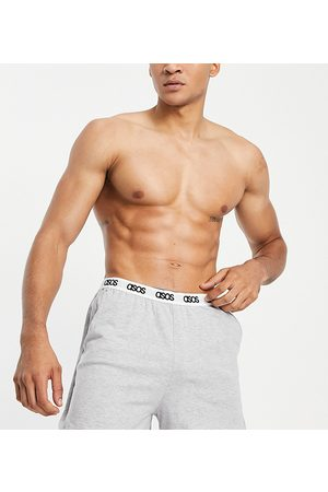 ASOS Men Sports Shorts - Lounge runner shorts in marl with branded waistband